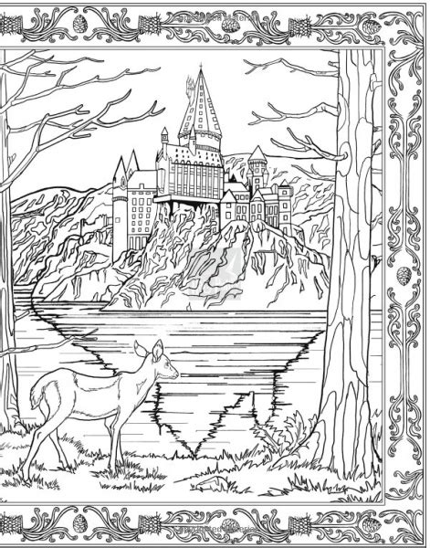 harry potter train coloring page free coloring pages of harry potter train