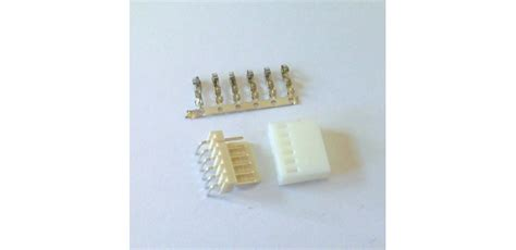 Konektor Putih 6pin jual white housing 6 pin tipe l