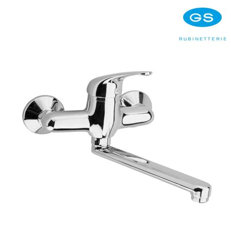rubinetti gs monocomando miscelatore parete gs rubinetterie per lavello