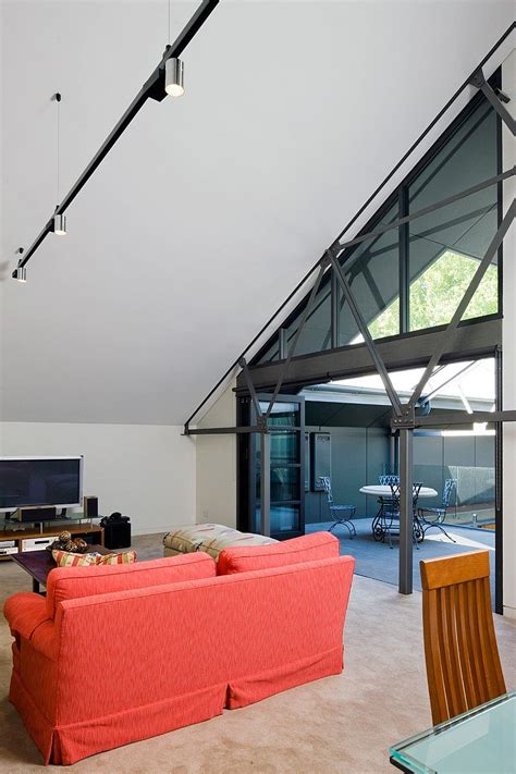 warehouse turned  family home  corben architects