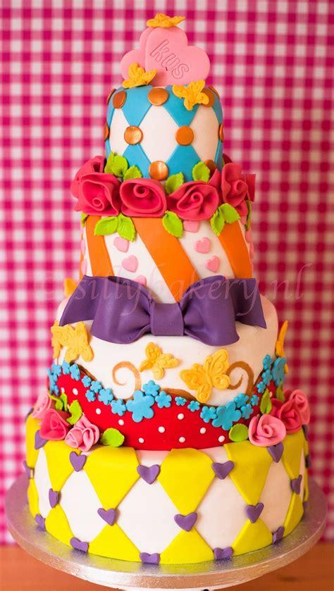 Colorful Wedding Cakes by Colorful Wedding Cake Www Sillybakery Nl Silly Bakery