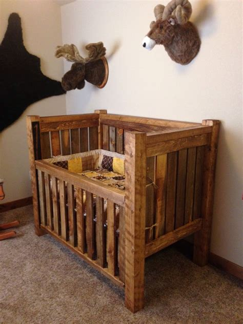 Rustic Baby Crib And Hunting Lodge Bedroom Baby Room Rustic Baby Cribs
