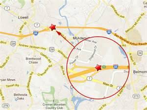map of i 85 in carolina 18 wheeler near lowell nc slows traffic on i 85