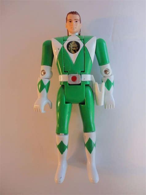 Tomy Bandai Figure power rangers green ranger flip figure