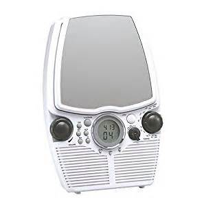cd player shower radio electronics