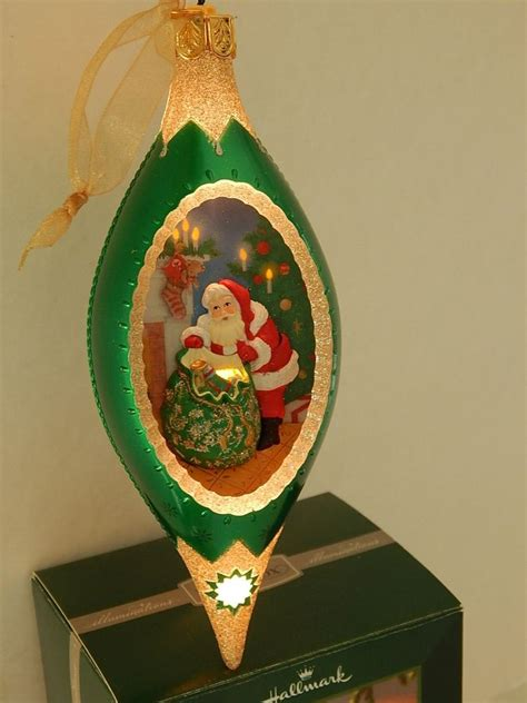 hallmark tree ornament illuminations santas christmas