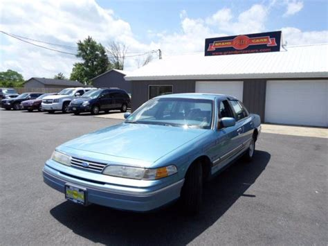 how petrol cars work 1994 ford crown victoria on board diagnostic system 1994 ford crown victoria lx in cedar lake in grand prize cars