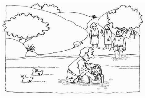 coloring pages jesus is baptized jesus baptism coloring page coloring jesus baptism