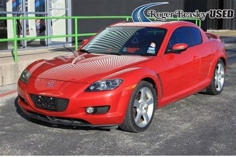 buy car manuals 2008 mazda rx 8 parking system buy used 2008 mazda rx 8 grand touring rotary red leather sunroof manual bose renesis aux in