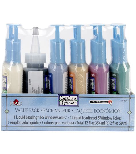 gallery glass window color paint set jo