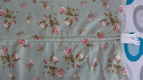 sew  zipper   lined skirt