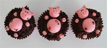 pigs in the mud cupcakes gloverly cupcakes
