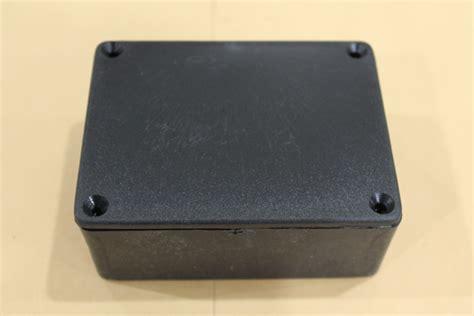 Kotak Kado Warna Hitam Pakai Sekat jual box plastik kotak plastik rangkaian elektronik warna hitam central robot