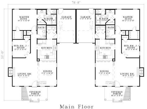 Plans For Duplex Apartments by Best 25 Duplex Plans Ideas On Duplex House