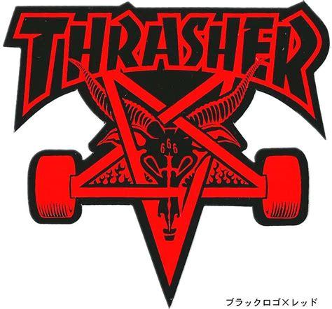 thrasher skate goat logo dragtrain rakuten global market thrasher skate goat