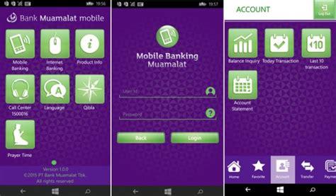 Alarm Untuk Bank bank muamalat merilis aplikasi mobile banking resmi untuk