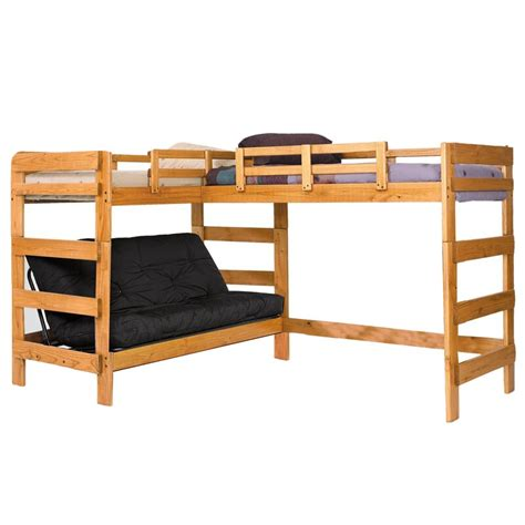 chelsea home twin  full  shaped bunk bed reviews