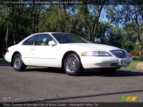 lincoln viii performance performance white 1997 lincoln viii light