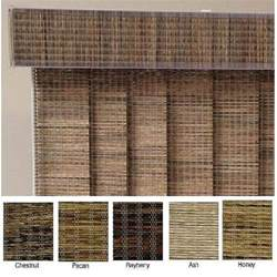 Extra Wide Curtains For Patio Doors Edinborough Fabric Vertical Blinds And Valance 100 In W