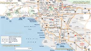 Los Angeles Tourist Map by Maps Update 21051488 La Tourist Attractions Map Los