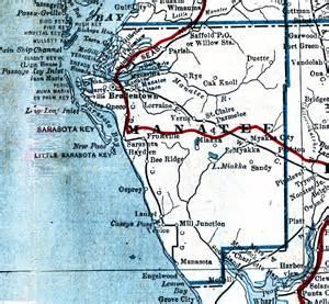 florida gis map manatee county 1917