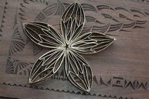 bloemen maken van wc rollen wc rol bloem knutselidee 235 n pinterest