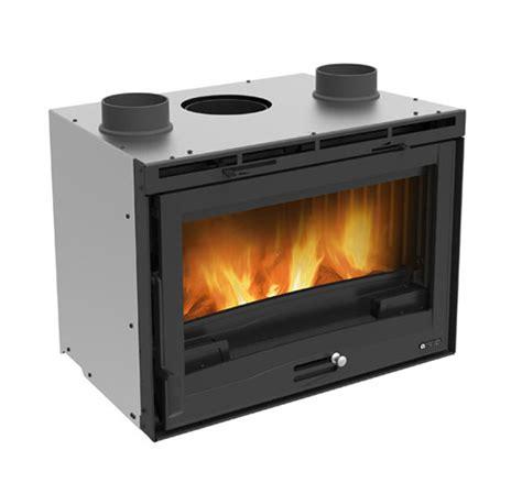 camini nordica wood fireplaces inserto 70 h49 ventilato la nordica