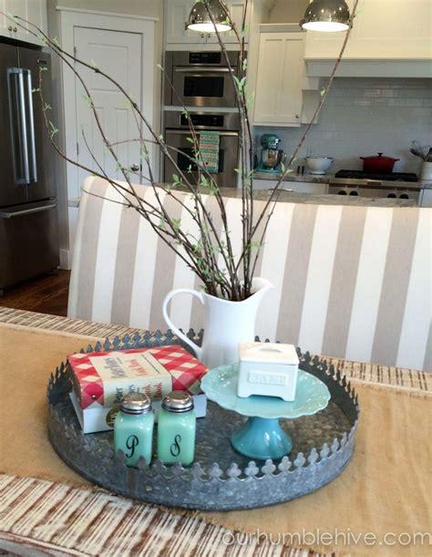 kitchen table centerpieces design decoration