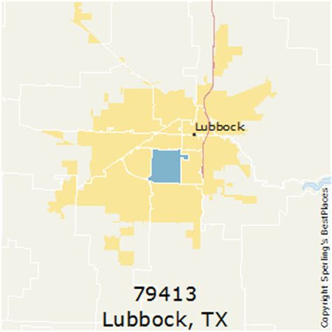 zip code map lubbock best places to live in lubbock zip 79413 texas