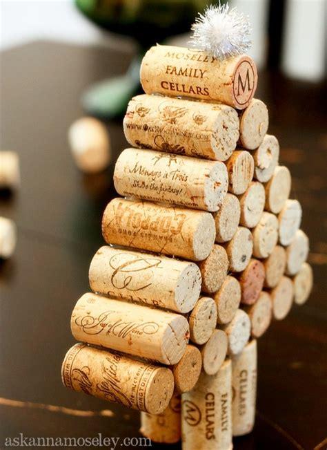 christmas cork idea images wine cork tree tutorial ask