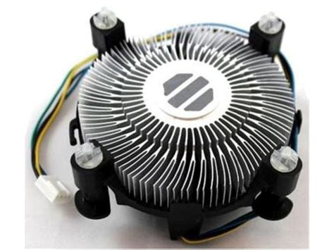 Lga 775 4pin Cpu Fan Heatsink Cooler Cooling For Intel