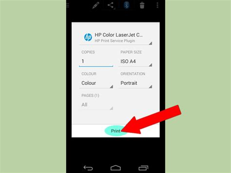 how to print on android how to print from an android phone or tablet 12 steps