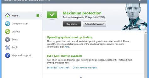 cara full version eset nod32 sinau belajar cara crack eset smart security 6 dan eset