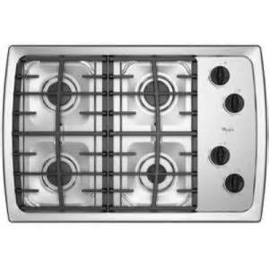 Gas Cooktop Reviews Whirlpool Gas Cooktop Scs3017rs Scs3017rb Reviews