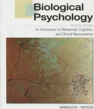 discovering behavioral neuroscience an introduction to biological psychology mindtap course list books biological pyschology marc breedlove 9780878939275