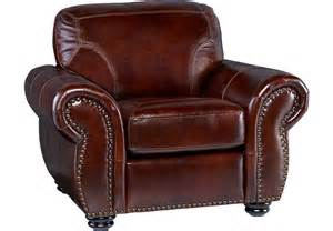 Leather Sofa Chair Brockett Brown Leather Chair Chairs Brown