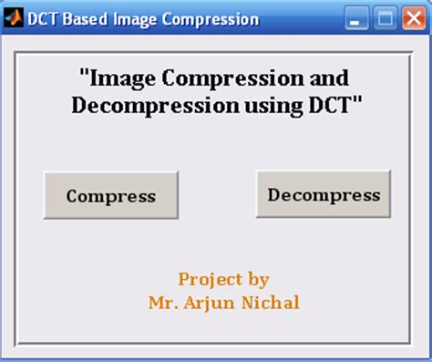 Matlab Source Code For Image Compression Using Dct