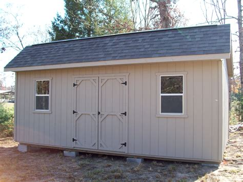 8x10 Garage Door Rent To Own Storage Buildings Sheds Barns Lawn Furniture Playgrounds More Mountain Barn