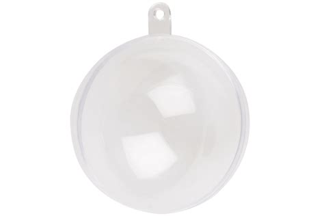 clear baubles plastic craft bauble bath bomb moulds soap