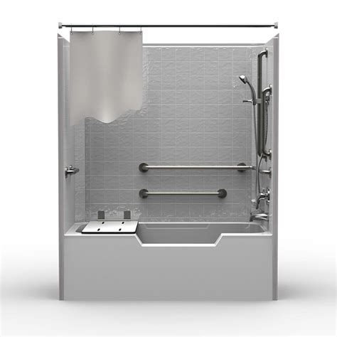 1 bathtub shower single piece code compliant 60 quot x 32 quot x 72 quot shower tub
