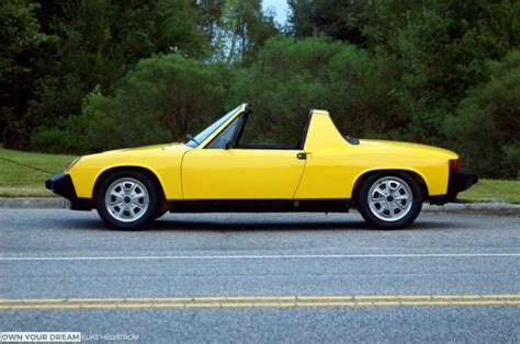 porsche 914 yellow seller of classic cars 1975 porsche 914 yellow black