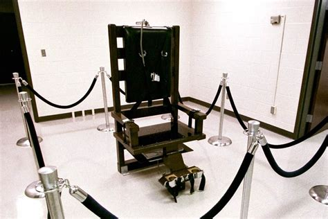 How To Make Electric Chair by What Could Go Wrong Electric Chair Poised To Make A