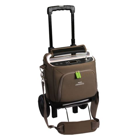 Easy Accessories For On Oxygen by Respironics Simplygo Travel Cart Copd Store
