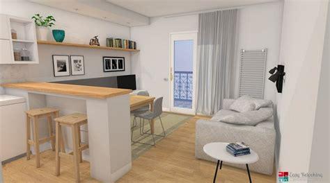 libreria master firenze progettazione di un soggiorno moderno con cucina a vista