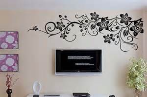 Black And White Wall Stickers Alfa Img Showing Gt Large Wall Decals White