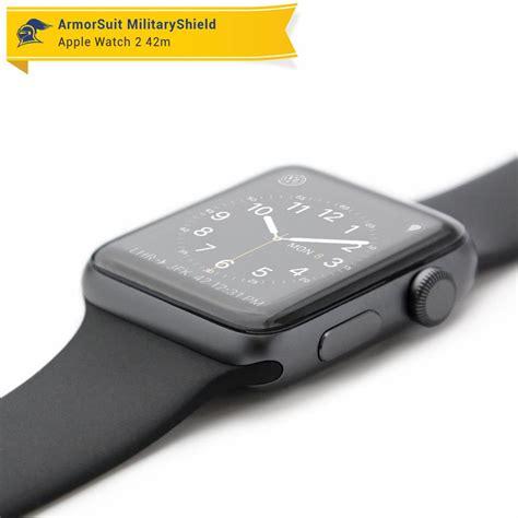Cover Screen Protector Untuk Apple Series 1 42mm apple 42mm series 2 screen protector 2 pack armorsuit
