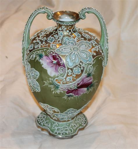 Red Wing Pottery Vases Bargain John S Antiques 187 Blog Archive Nippon Moriage