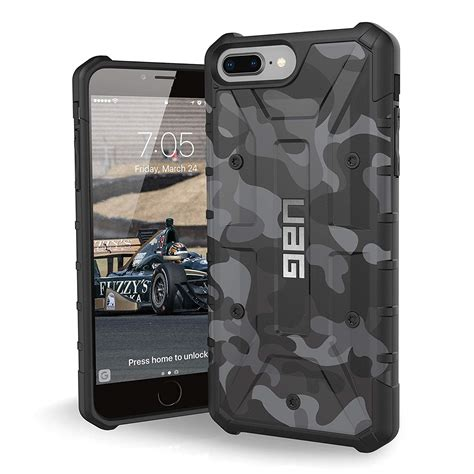 uag iphone 8 plus iphone 7 plus 5 5 inch screen camo midnight ebay