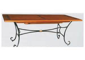 table bois fer forg 233 meubles coomans