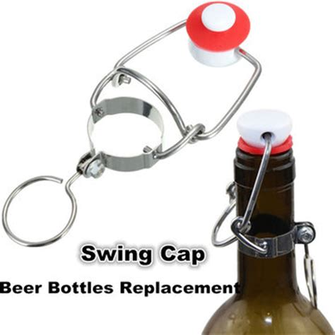 swing cap cap flip top stopper root homebrew wine beer bottles
